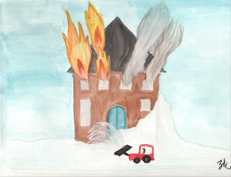Fire and Snowplough